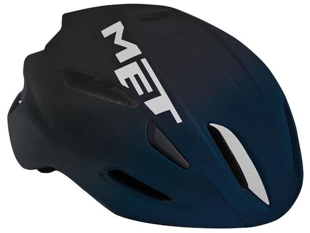MET Manta - Casque de vélo - bleu